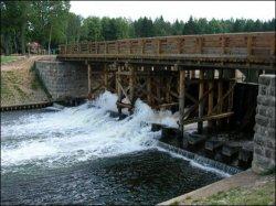 Аўгустоўскі канал з беларускага боку надалей не прывабны