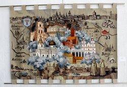 Белорусская школа гобелена представлена на триеннале в московском музее-заповеднике «Царицыно»