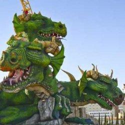 В «Сочи-парке» поселился «Змей Горыныч»