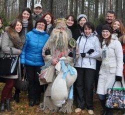 Гости Березинского заповедника отметят новогодние праздники в компании Болотника