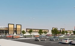 В Вильнюсе у торгового центра Ikea строится торговая долина Nordika