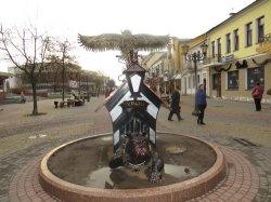 Брестские сова с бульдогом переедут на аллею фонарей