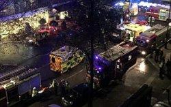 В центре Лондона взорвался пятизвездочный отель