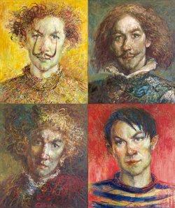В галерее Михаила Савицкого можно увидеть 100 картин художника Андрея Смоляка