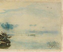 «Охотники на реке с убитым лосем»: выставка одной картины