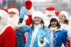 Настоящая коза в повозке возглавит праздничное шествие Дедов Морозов и Снегурочек в Витебске