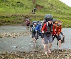 Эльвира Ким: «Думала, что отправляюсь в Исландию на легкий трекинг, а попала в сложный категорийный поход!»