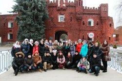 Чебоксарские студенты  посетили с экскурсией Беларусь