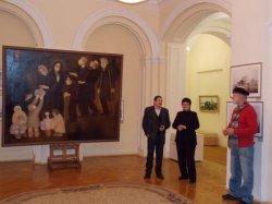 У Віцебску праходзіць выстава адной карціны Аляксандра Малея