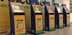 В аэропортах Ямайки появились автоматы для погранконтроля