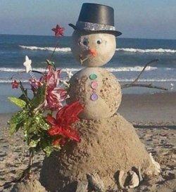 Фотофакт: снеговик по-болгарски