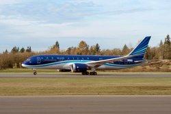 """Авиапарк AZAL (Азербайджан) пополнил первый """"Boeing 787 Dreamliner"""""""