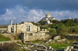 Число европейских туристов в Херсонесе сократилось почти в 50 раз