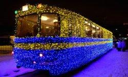 В Киеве начал ходить «Сказочный трамвай»