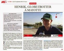 В Минск летит молодой путешественник-датчанин, который идет на рекорд Гиннеса