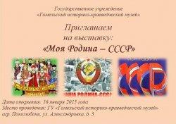 В музее деревни Поколюбичи открылась выставка артефактов «Моя Родина — СССР»