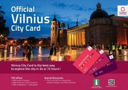Обновленная туристическая карточка Вильнюса: новый дизайн и увеличенная система скидок