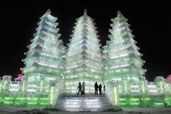 ?В крупнейшем городе Японии стартовал фестиваль ледовых скульптур
