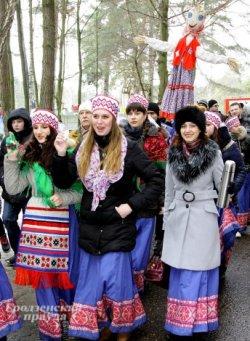 Под Гродно собираются массово провожать зиму