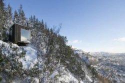 Берген предлагает бесплатно переночевать в дизайнерской хижине без туалета и водопровода