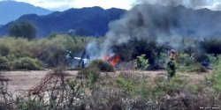 Десять человек - участников популярного французского телешоу - погибли при крушении вертолетов в Аргентине
