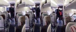 Задорный танец стюардессы стал хитом интернета
