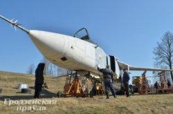 В Зельве ко Дню Победы появится самолет Су-24 МР