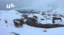 Поток туристов из Беларуси на горнолыжный курорт Гудаури увеличился