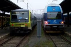 Хоккей и как приятный бонус — бесплатный проезд на поезде в Чехии