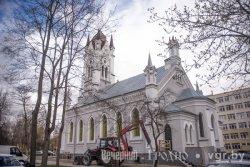 Гродненской кирхе вернули исторический цвет