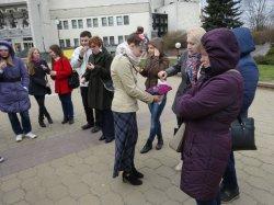 В Минске прошла первая экскурсия по японским достопримечательностям на белорусском языке