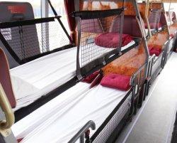 В Великобритании появились автобусы со спальным местом