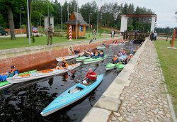 На Августовском канале начал работу сезонный речной погранпункт