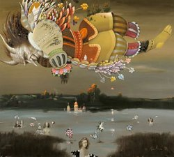 Репродукции 30 картин Николая Селещука составили экспозицию выставки в Минске под открытым небом