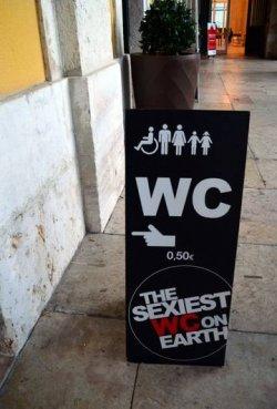 В Лиссабоне открылся «самый сексуальный туалет в мире»