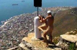 Туристы устроили порно-шоу на одной из достопримечательностей в Южной Африке