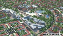 Шестиэтажная гостиница, которую строит турецкий инвестор, откроется в августе в Островце Гродненской области