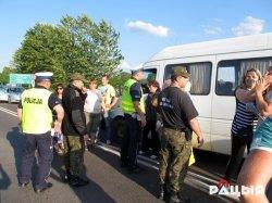 Скандал на границе. Польские полицейские распылили на белорусов перечный газ