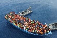 Приток мигрантов на греческие острова увеличился в шесть раз