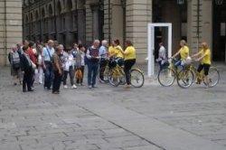 Турин пересадил справочное бюро на велосипеды