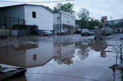 Сочи после наводнения. Уровень воды начал спадать