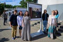 Страна должна знать своих героев: на набережной Свислочи, в парке им. Максима Горького открылась фотовыставка «Проекты в лицах»