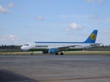 «Узбекистон Хаво Йуллари» открыл прямой рейс Ташкент–Минск: в Беларусь сегодня прилетели 115 пассажиров