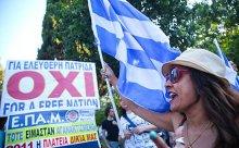 Греки на референдуме сказали «нет» международным кредиторам. Курс евро по отношению к доллару снизился на полпроцента