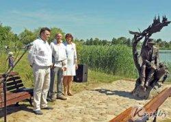 В Глубоком открыли скульптуру «Дзед-глыбачанiн» в честь историка и краеведа Александра Соболевского