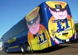 Лондон и Милан связали автобусы за 2 евро