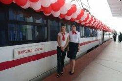 В Батуми открылся новый железнодорожный вокзал