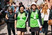 В Хельсинки у туристов появились «мобильные помощники», которые могут пообщаться на 13 языках