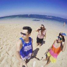 Туристы, задержавшиеся на Бали из-за извержения вулкана, запустили издевательский флешмоб