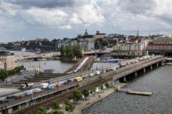 Центр Стокгольма станет пешеходным